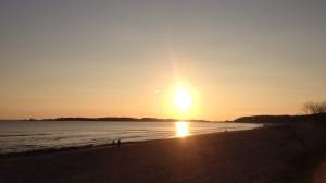 Sunsets Llanddwyn Island